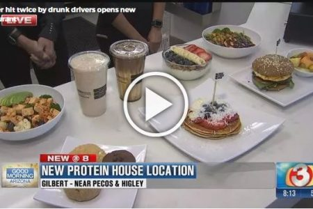 Tom & Heidi Gaupel and Karey Northington open PROTEINHOUSE Healthy Fit Kitchen in Gilbert, AZ.
