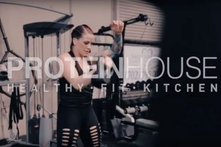 ProteinHouse Gina Mazany Interview, UFC Fighter