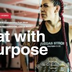Image for Cris Cyborg Eats PROTEINHOUSE