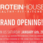 Image for Ribbon Cutting & Grand Opening – ProteinHouse – AURORA