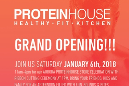 Ribbon Cutting & Grand Opening – ProteinHouse – AURORA