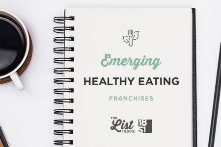 Top Healthy Eating Franchises Under 50 Units